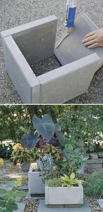 How To Cinder Block Planters | Apps Directories