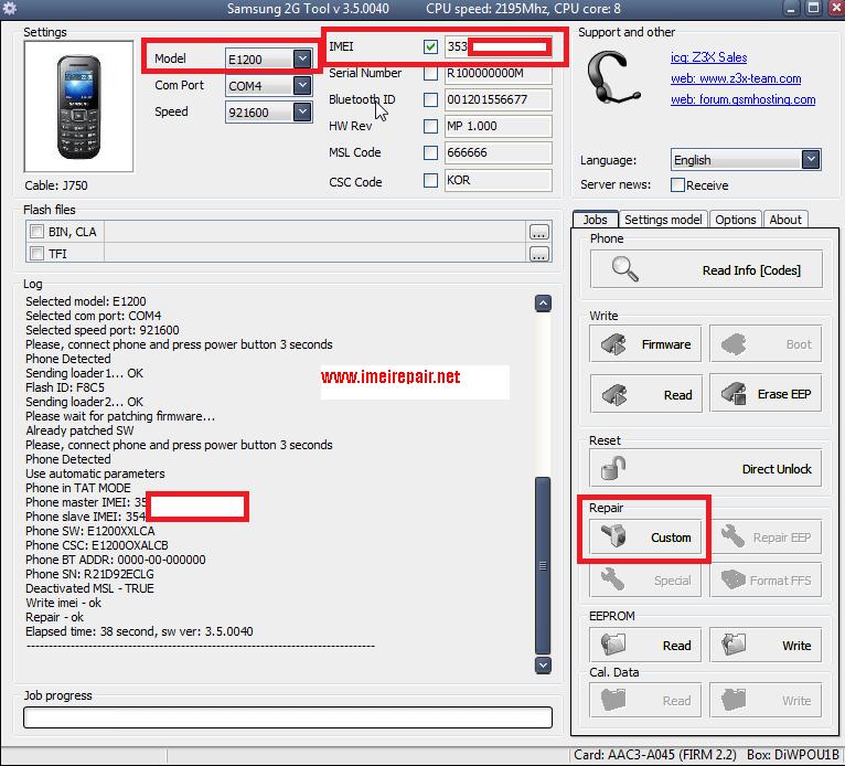 E210 combo kablosunun sadece UART atarafını kutuya bağlayın. . Telefonu ba