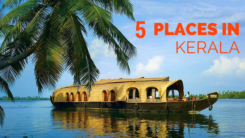 5 Places in Kerala