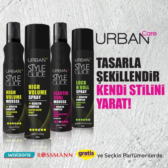 Urban Care - Urban Cate Styling Serisi - Urban Care Ürünleri Kullananlar -  Style Guide - Selen Kozmetik - High Volume Urban Care - Urban Care Aqua Wax