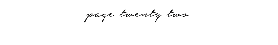 Page: Twenty-Two