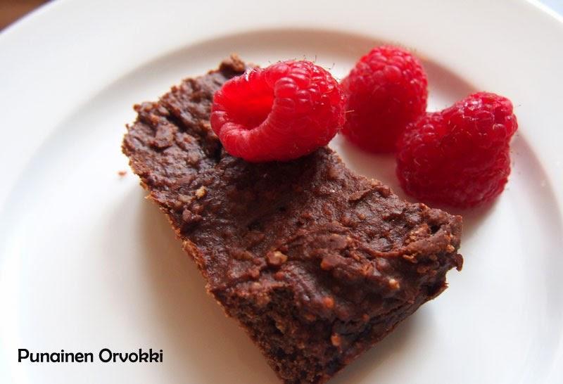 Todella hyvät gluteenittomat browniet
