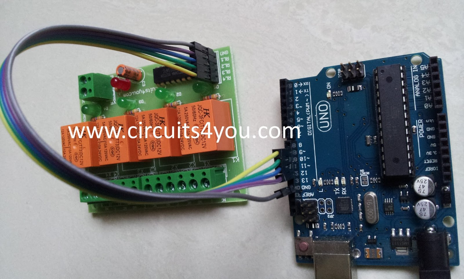Circuits you bluetooth relay control step