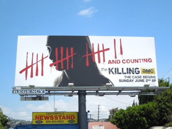 Killing season 3 billboard