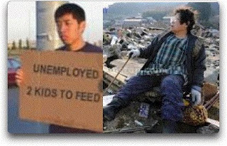 99ers Hungry & Homeless NOT an Emergency - But Japan Is?