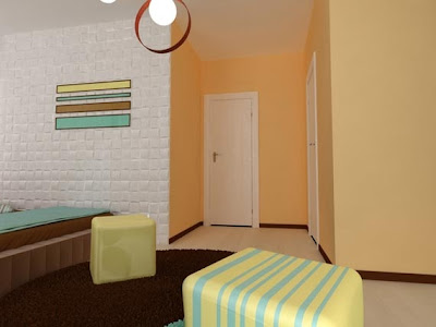 foto dormitorio juvenil femenino chocolate blanco