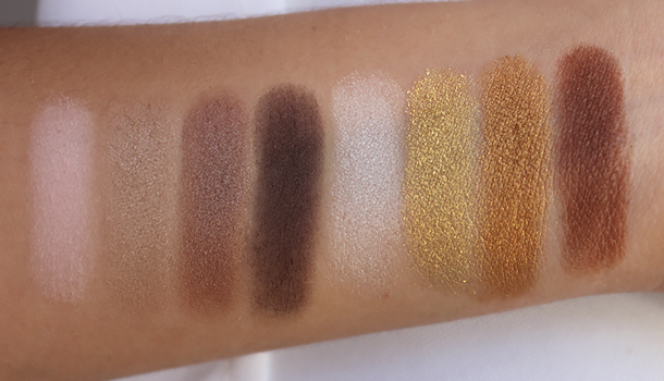 wet n wild walking the red carpet palette swatches