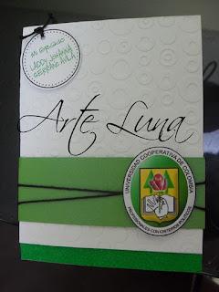 ARTE LUNA: Tarjetas para Grado