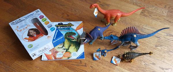 Dinosaures figurines Ravensburger
