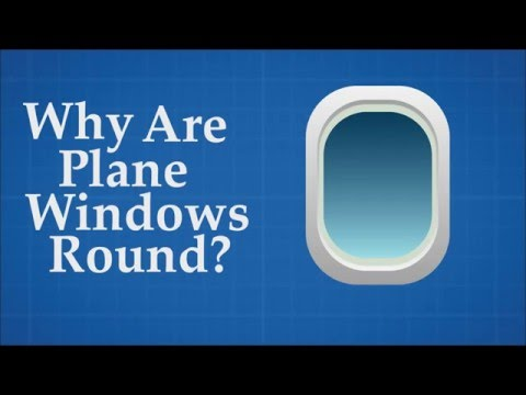 plane windows round