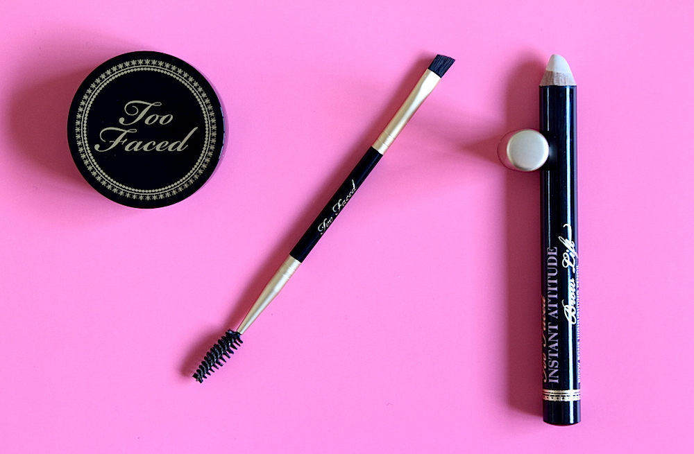 too faced bulletproof brows universel taupe Instant attitude brown lift avis test