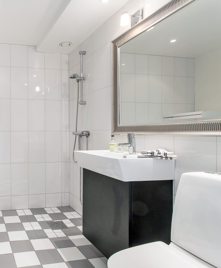 Badrum tvättstuga badrum : studio karin: VÅR NYA TVÄTTSTUGA SLASH BADRUM