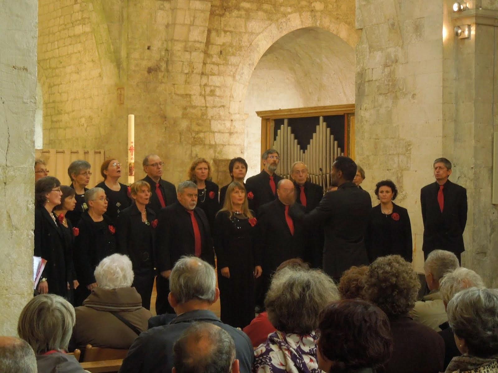 Concert à l'abbaye de Léoncel