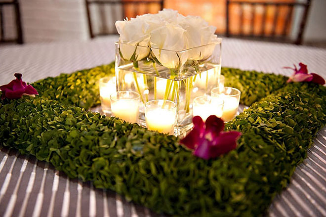 25 stunning wedding centerpieces best of 2012 belle - Centros florales modernos ...