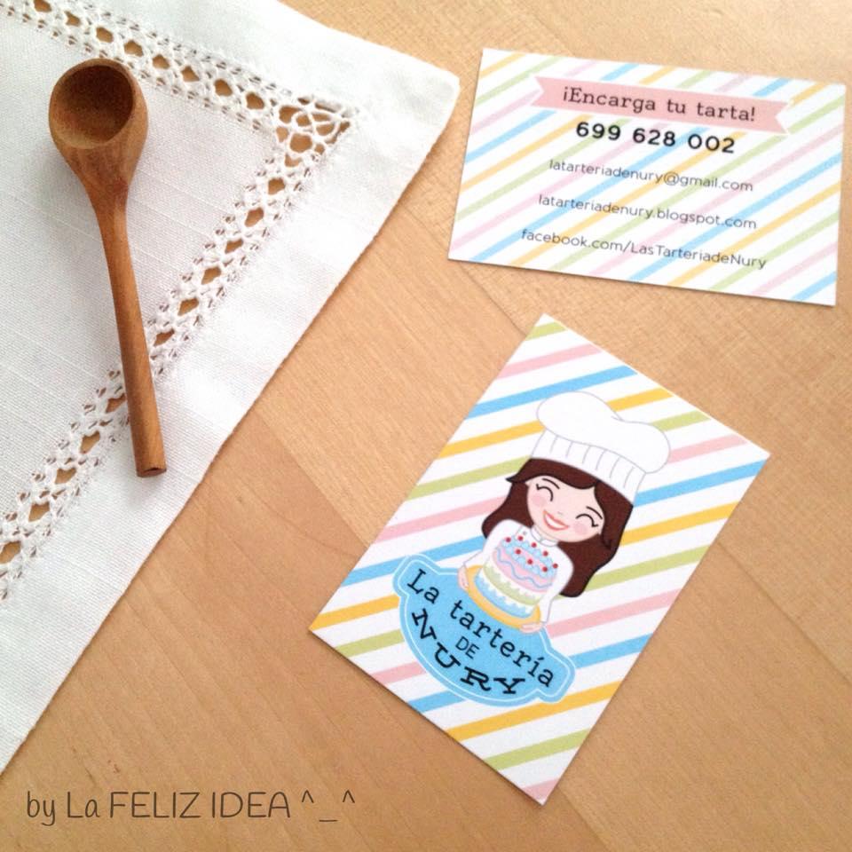 Bakery business cards design / Tarjetas de visita para repostería creativa