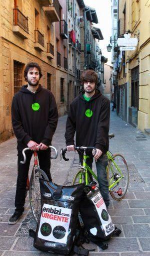 Montar un servicio de mensajeria en bicicleta