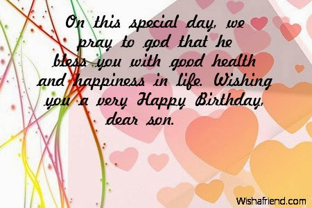 All stuff zone birthday wishes for son birthday wishes for son m4hsunfo