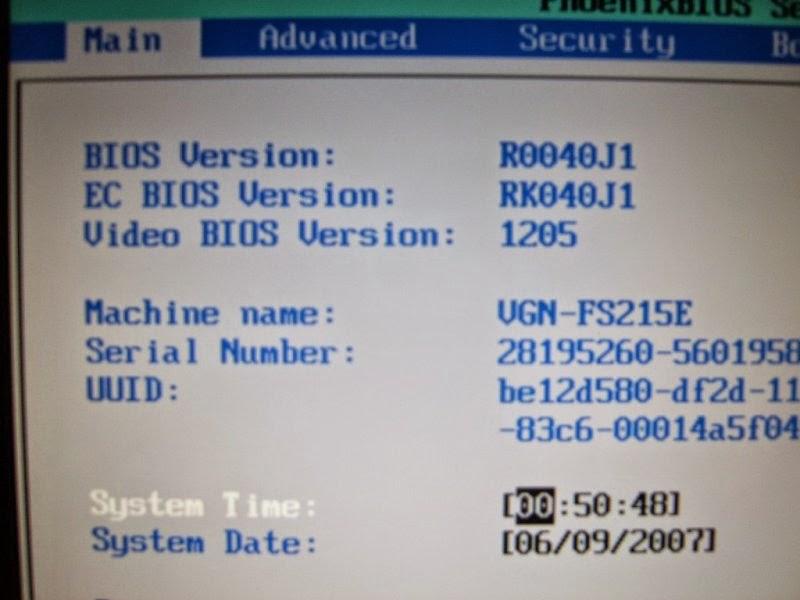 Những phím tắt để vào BIOS của các dòng máy tính xách tay