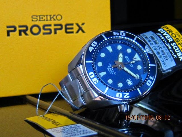 "Seiko ""Blue Sumo"" SBDC003"