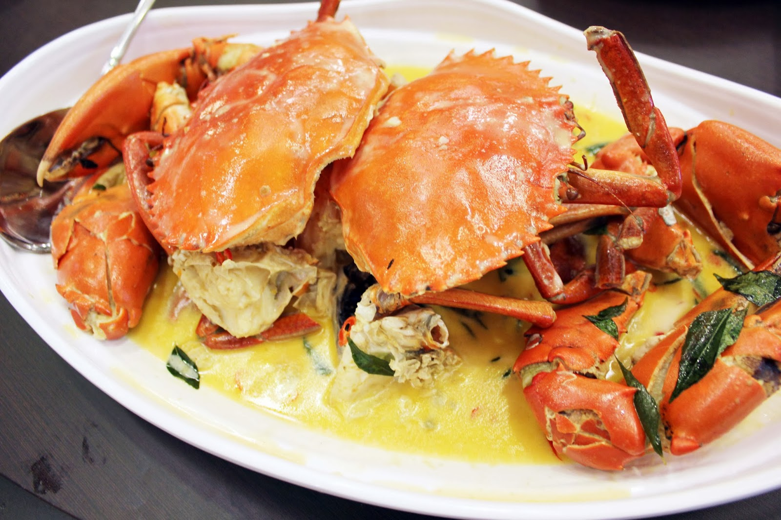 creamy butter crab $ 25 for $ 50 worth of chinese creamy butter crab ...