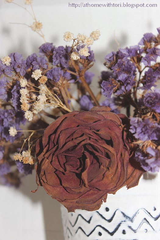 Dried Flower Bouquet Photo by Tori Beveridge AHWT
