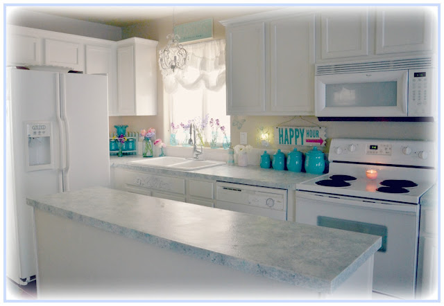 Is Countertop Paint Durable : ... So Shabby - Shabby Chic: Giani Granite Countertop Paint One Year Later