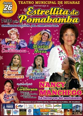 homenaje a estrellita de pomabamba