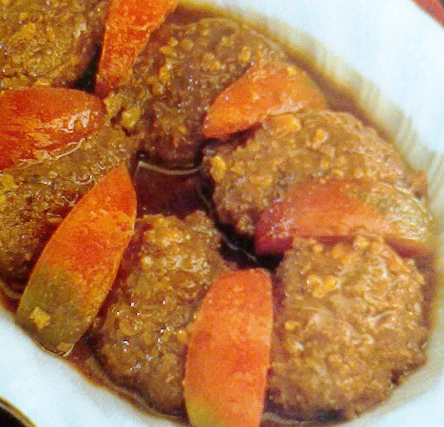 ... membuat semur daging giling resep masakan daging kali ini adalah