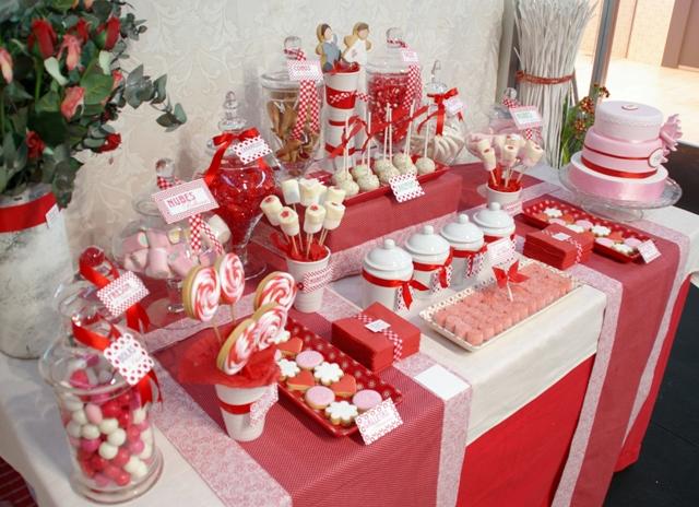 Los detalles de lex boda dulce for Mesa de dulces para boda