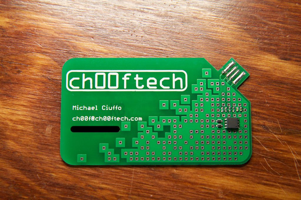 Pcb visiting card genius devils pcb visiting card made with attiny microcontroller colourmoves