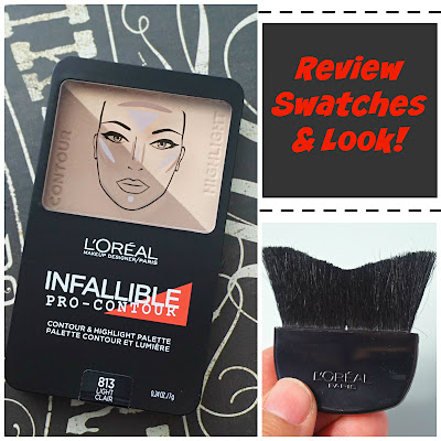 L'Oreal Infallible Pro-Contour & Highlight Palette in Light