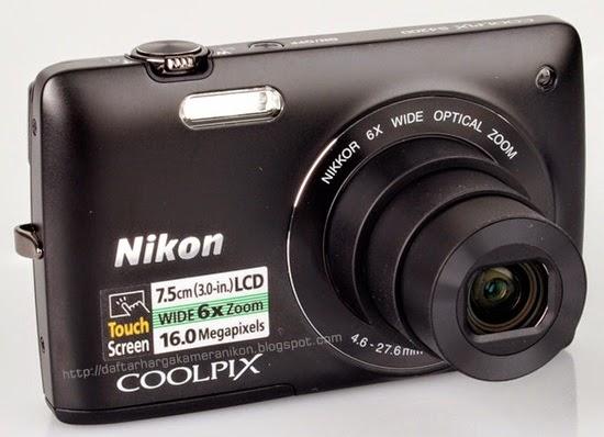Harga dan Spesifikasi Kamera Nikon Coolpix S4200 Terbaru