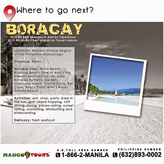 Mango Tours Where to go next Boracay Philippines