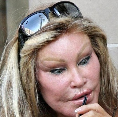 Ugly female celebrity
