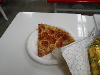 Sams Club pepperoni pizza