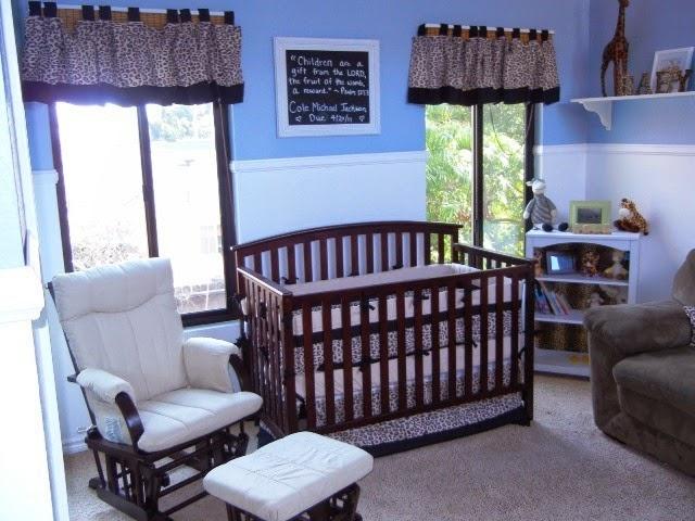 wall colors for boy nursery