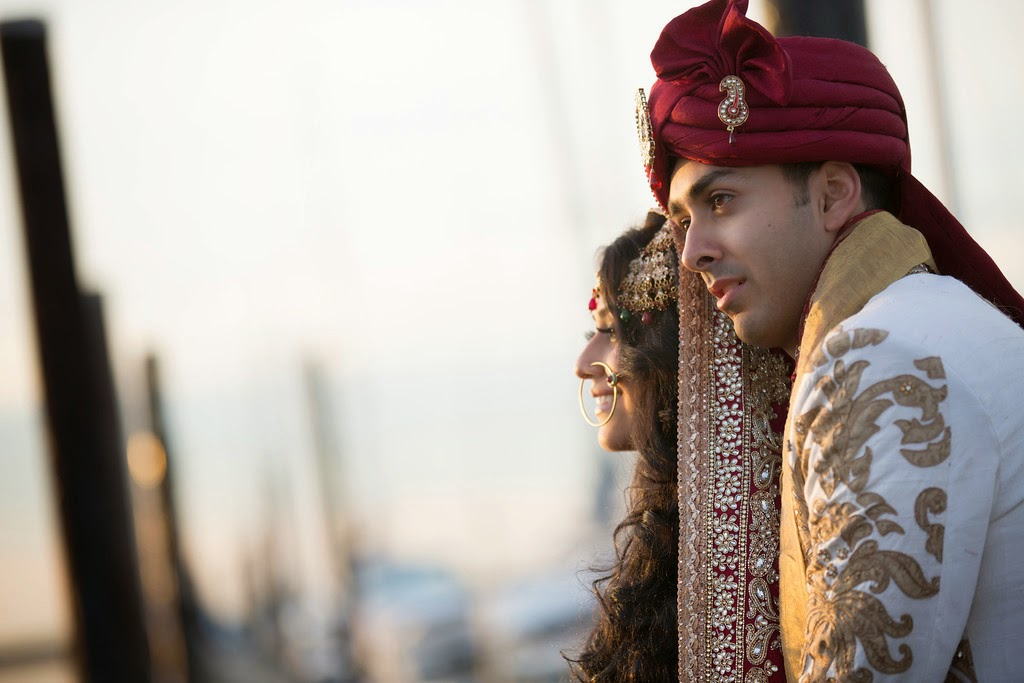 indian wedding, south asian wedding, sherwani, dupatta, portrait