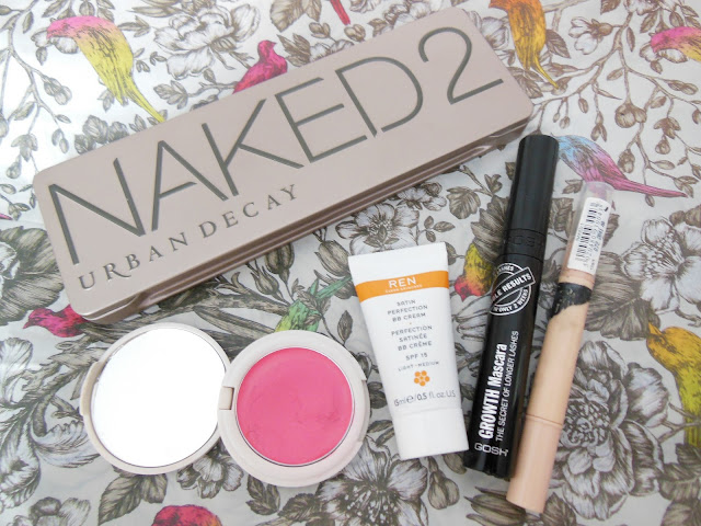 5 item face makeup products