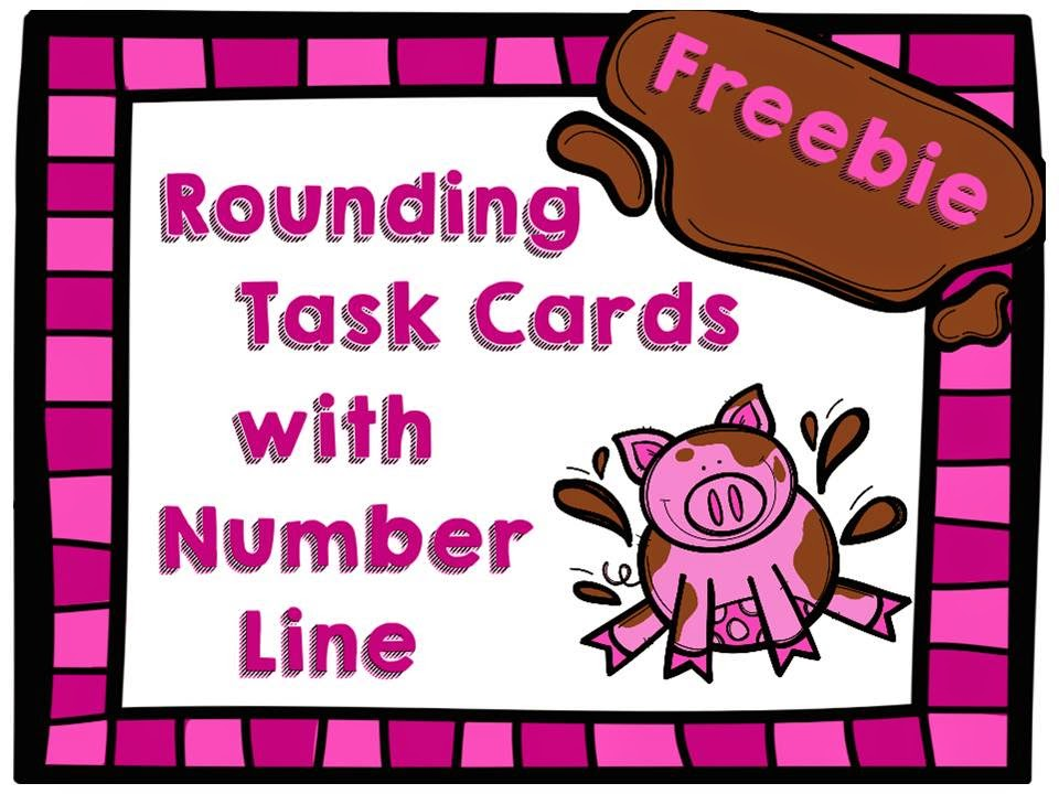 http://www.teacherspayteachers.com/Product/Freebie-Rounding-Task-Cards-with-Number-Line-1436313