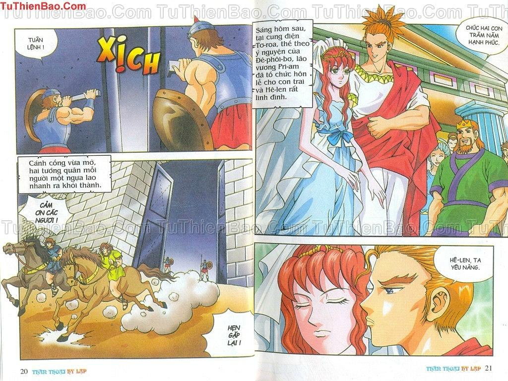 Thần thoại Hy Lạp Chapter 14 - Trang 9