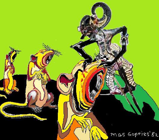 Sang satria&; bima sena/lukisan gopries82 galery