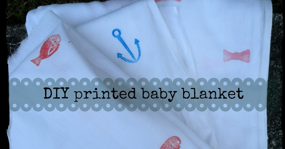 Rachelfound Diy Baby Blanket