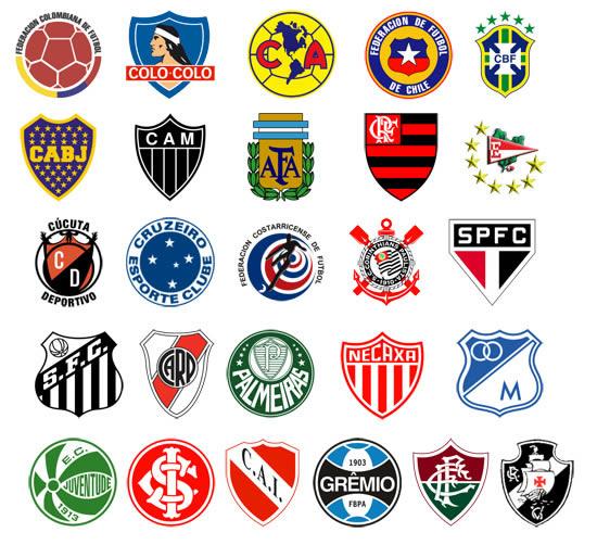 Football logos south america soccer daily