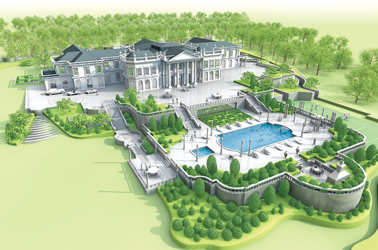 Mansions more enormous mansions in greenwich connecticut for Largest house plans in the world