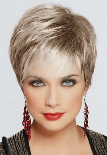 Gray Short Hairstyles 2015