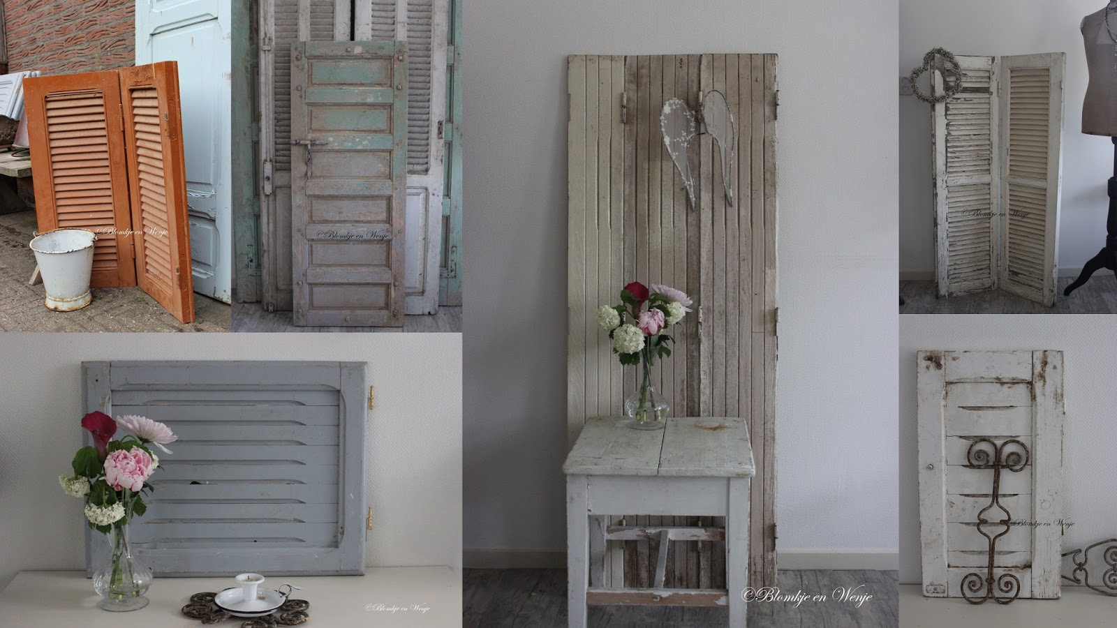 Blomkje en wenje we 39 re open - Oude keuken decoratie ...