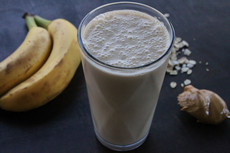 Bo's Bowl: Peanut Butter Banana Oatmeal Smoothie
