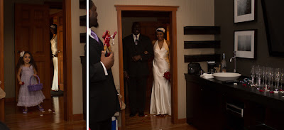 Tony escorts his daughter, Courtney - Patricia Stimac, Seattle Wedding Officiant