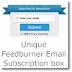 Ribbon: Feedburner Email Subscription box for Blogger/Wordpress