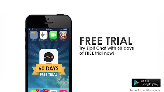 Try ZIPIT CHAT for FREE today!